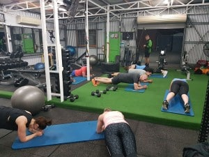 Our boot camp fitness class
