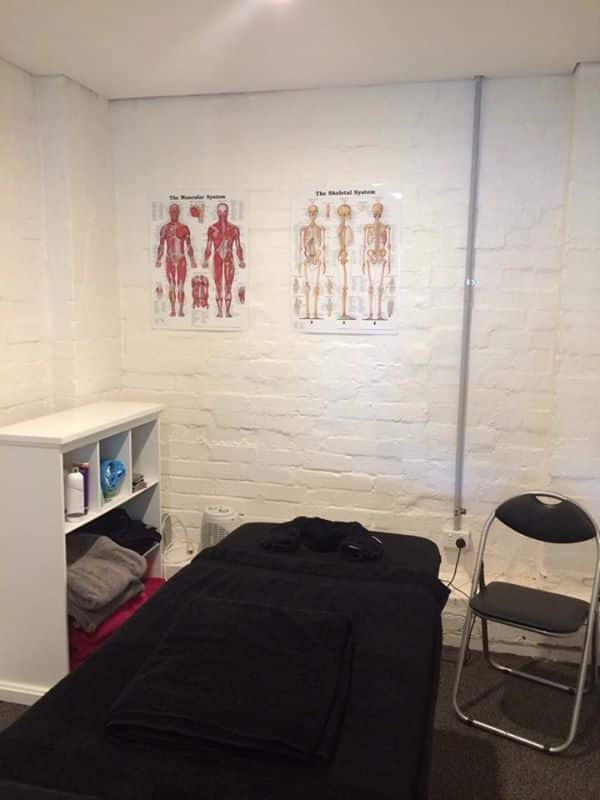 massage treatment room
