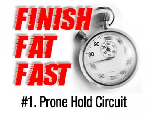Finish Fat Fast Workout 1