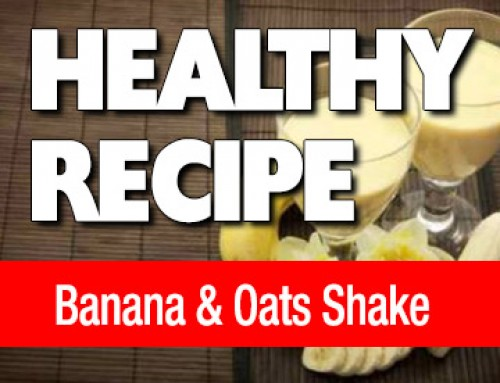Banana Oats Shake