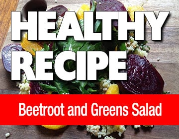 Beetroot and Green Salad