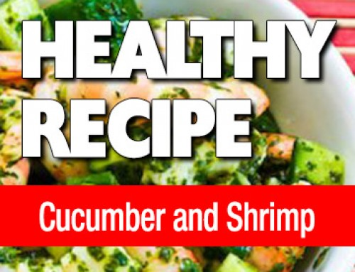 Cucumber and Shrimp Salad
