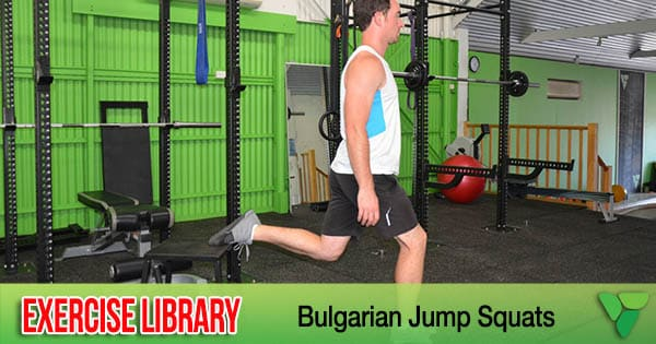 Bulgarian Jump Squats - Personal Trainer, Boot Camp and