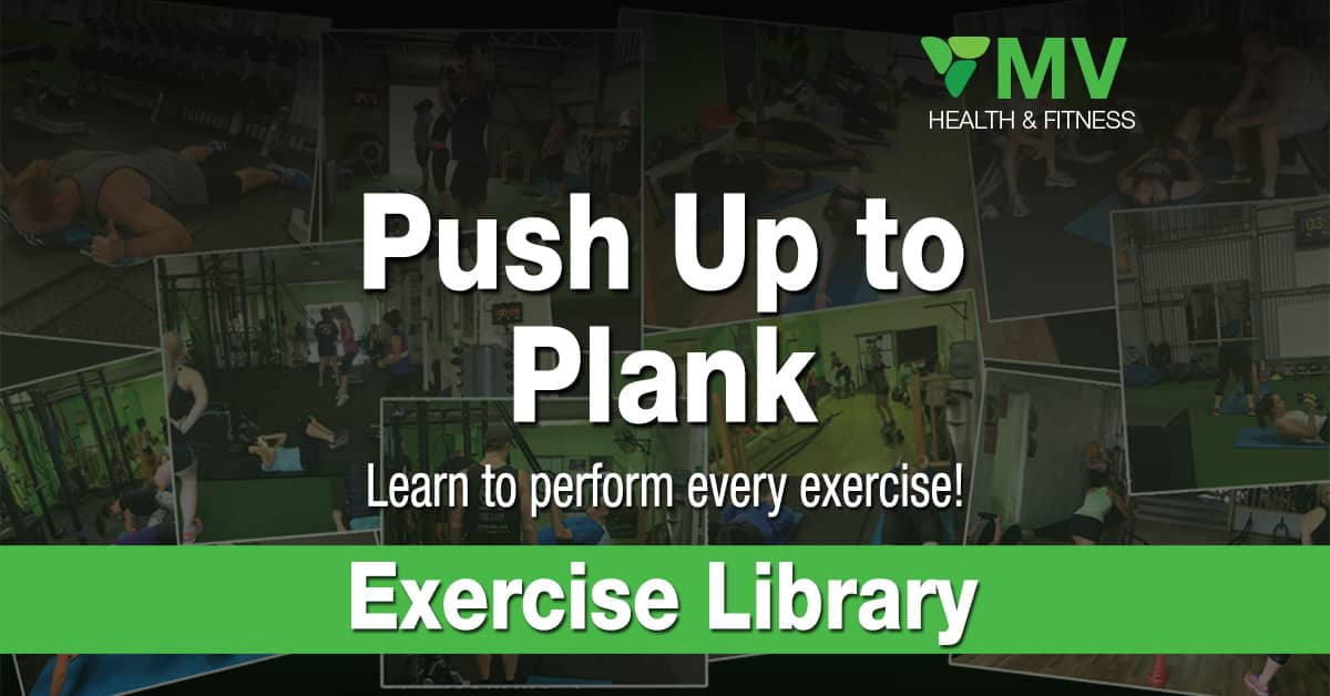 Push Up to Plank