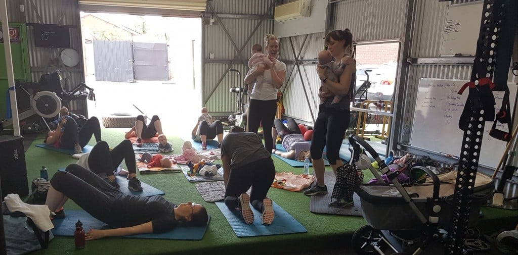 Fit Mums and Bubs Fitness Class