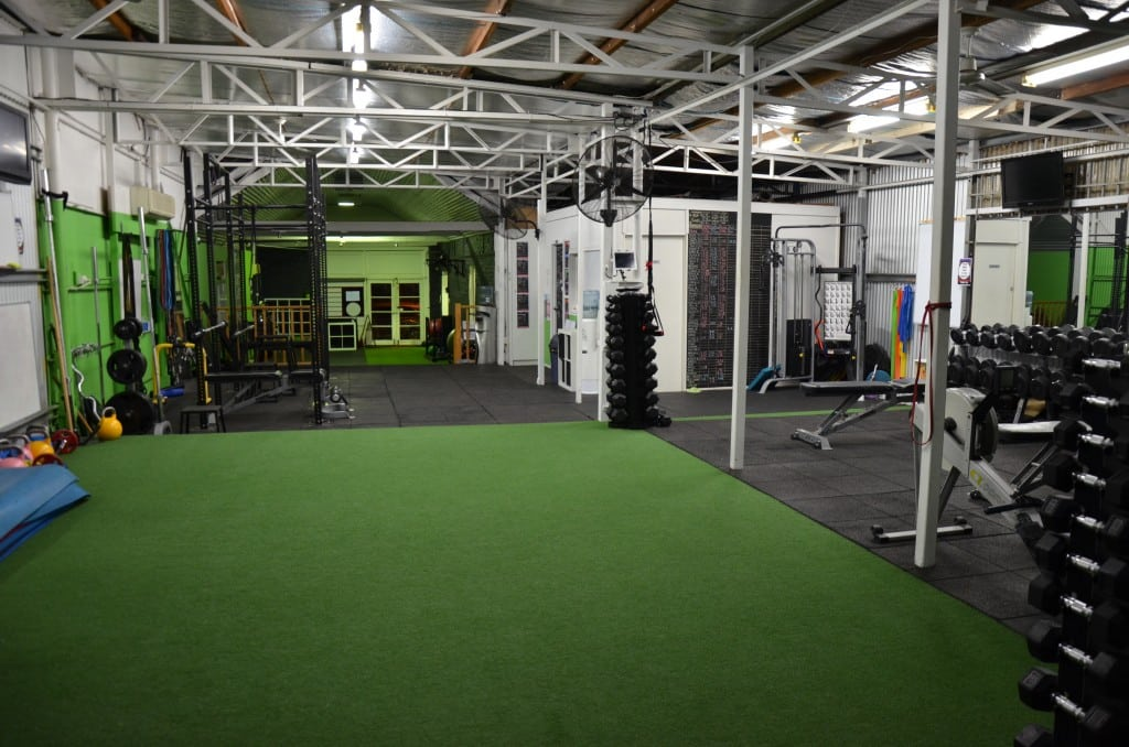 our personal trainer studio