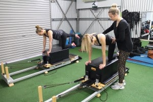 physio run clinical pilates session in action