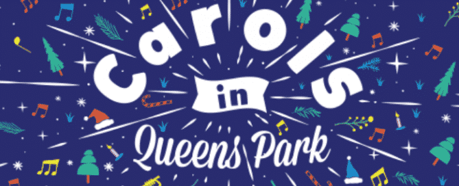 Christmas Carols in Queens Park 2018