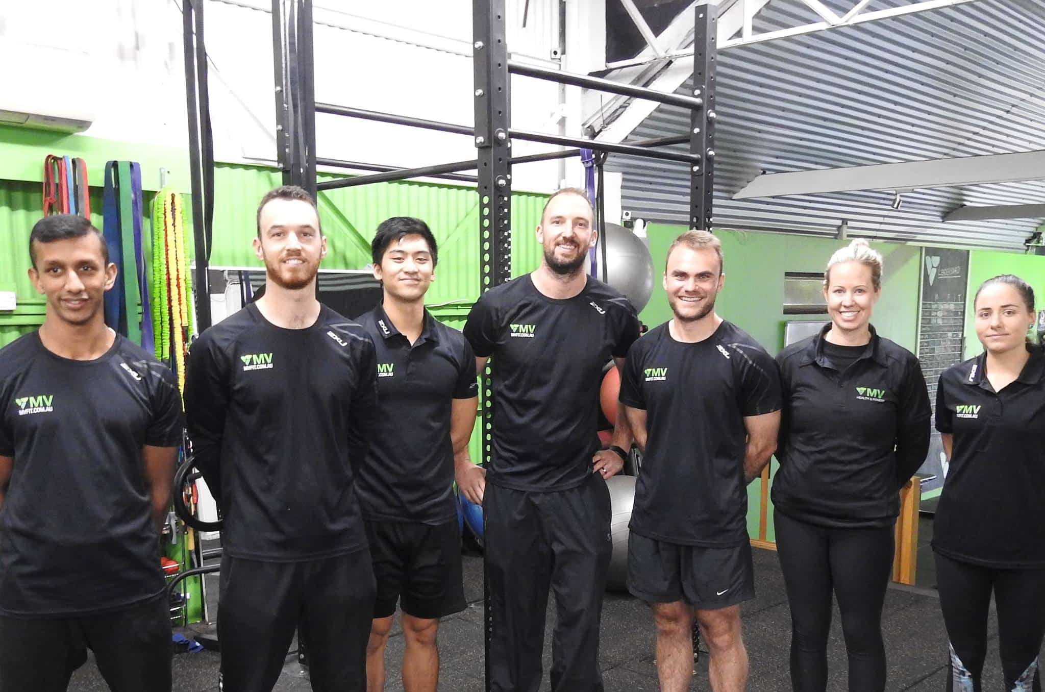 Team at MV FIT Gym & Clinic