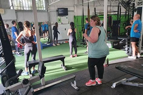 Gym Training Area