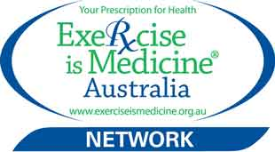 We are part of the Exercise is Medicine Network in Australia with exercise physiologists