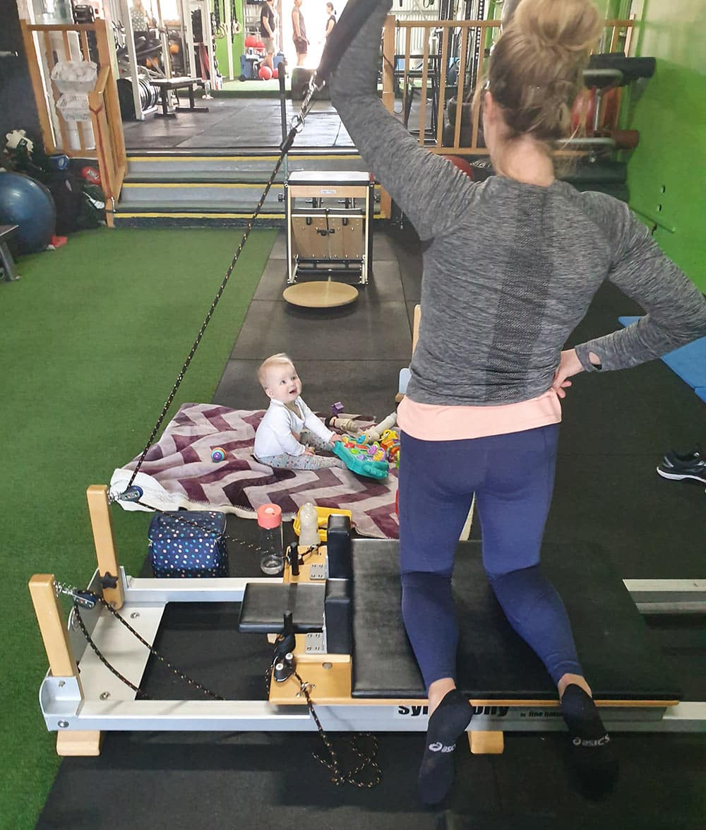 Physio Clinical Pilates with baby