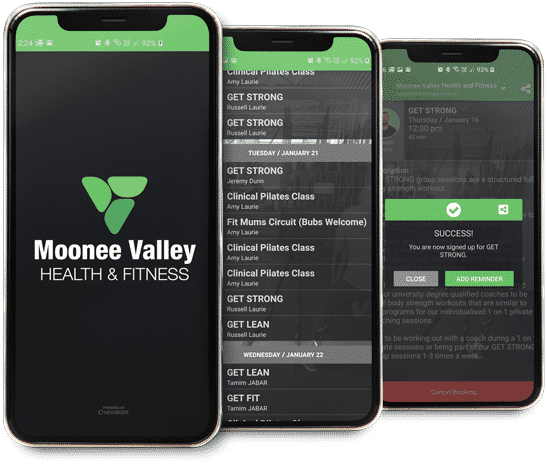 Download the MVFit App