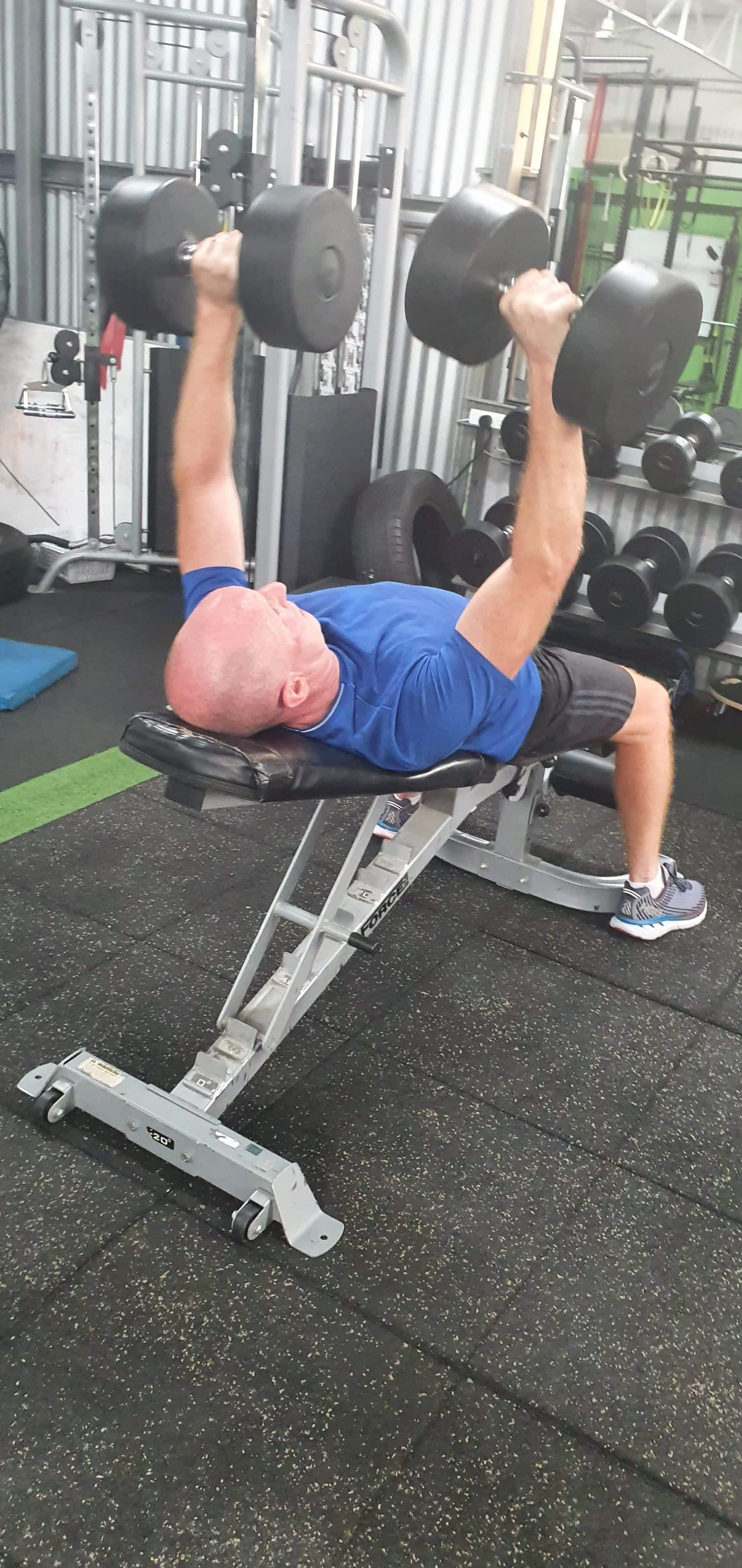 1 on 1 strength training in our personal training gym