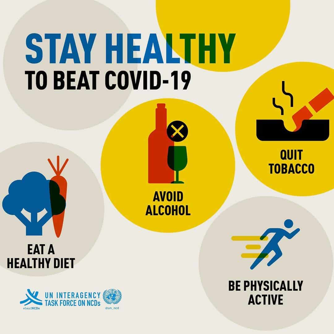 WHO - Stay Healthy COVID