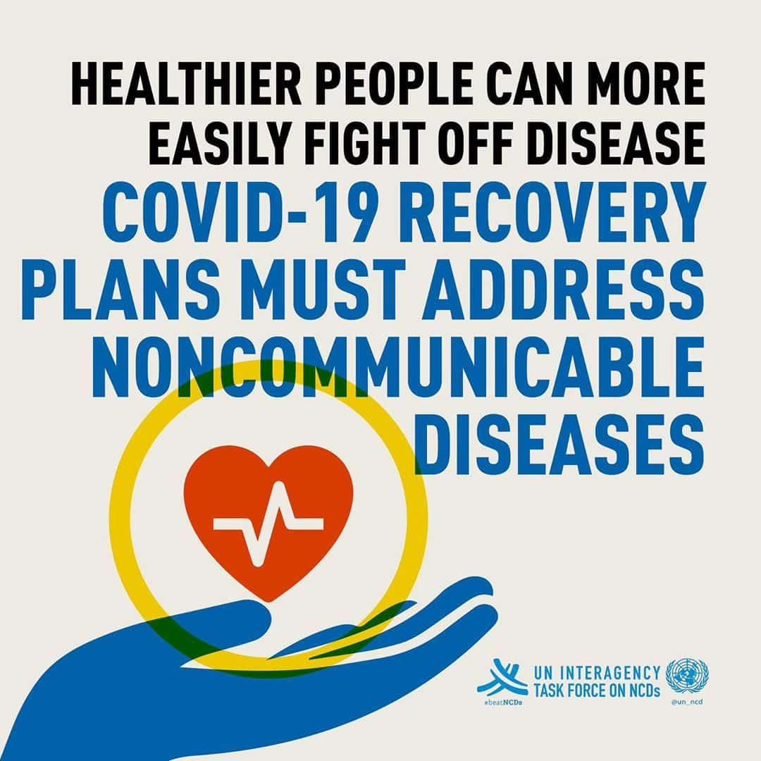 Healthier People can more easily fight off the disease
