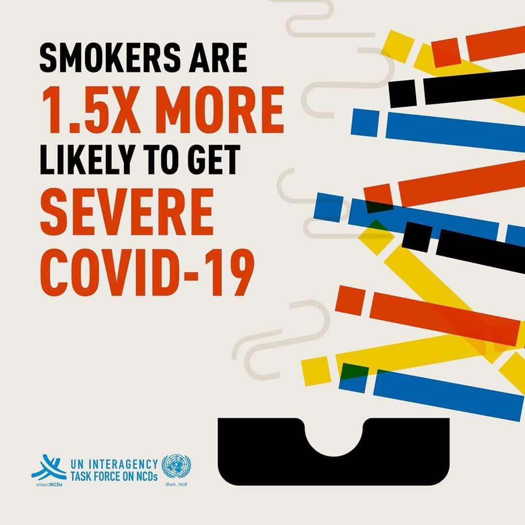 smokers get severe covid symptoms
