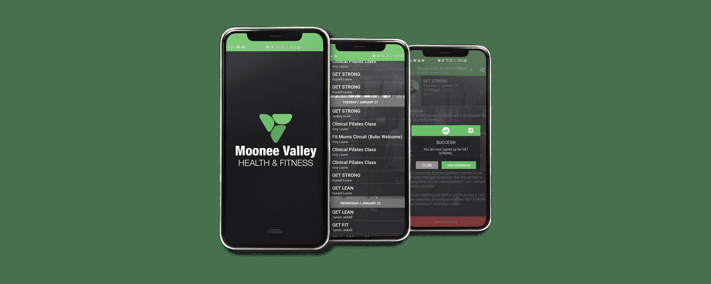 MVFitness App - Bootcamps & PT
