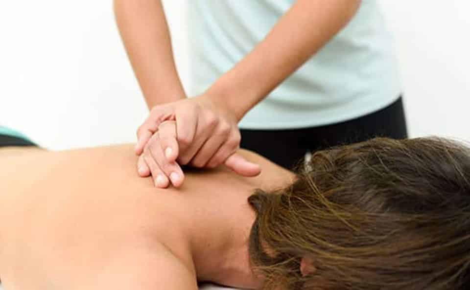 hands on therapy with massage